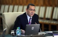 Ponta: Cu presedintele a fost o neintelegere pe tema Codului Silvic