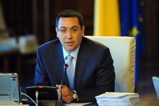 Ponta: Daca as demisiona, ar insemna sa ii vrem binele lui Basescu. Ar desemna premierul
