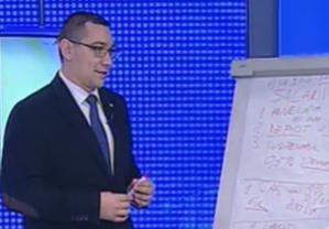 Ponta: Daca cresc acum salariile, vom fi nevoiti sa le taiem din nou in 2013
