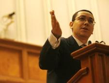Ponta: Daca parlamentarii Puterii sunt tinuti ca niste copii de gradinita in banca, motiunea nu trece