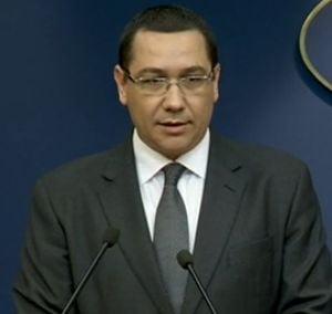 Ponta: Daca se pierde majoritatea parlamentara, voi demisiona din functia de premier