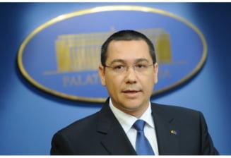 Ponta: Decizia privind calendarul liberalizarii pretului la gaze apartine Parlamentului