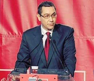 Ponta: Declaratiile de avere ale oamenilor politici trebuie sa fie publice
