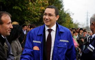Ponta: Declaratiile lui Basescu despre Lukoil, facute la tulburare, la nervi, in stare precara
