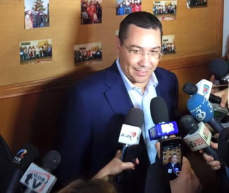 Ponta: Demisiile in alb ale ministrilor reprezinta o ilegalitate, inseamna ca ii santajezi. Guvernul e al Romaniei, nu al Teleormanului