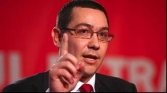 Ponta: Desemnarea lui Oprescu e atributul co-presedintilor USL