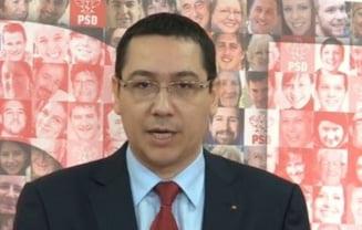 Ponta: Dragnea si Nichita in comisia de negocieri pentru noul Guvern. Nastase va fi eliberat (Video)
