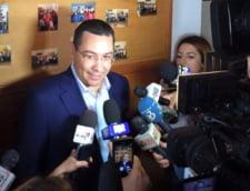 Ponta: Dragnea si mi-a propus de dimineata sa fiu ministru. Puteam chiar sa-mi aleg