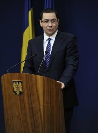 Ponta: E nevoie de consens politic pentru proiectul privind redeventele