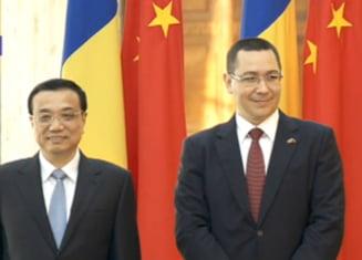 Ponta: E semn de mare miopie sa se creada ca esti impotriva UE daca ai relatii cu China