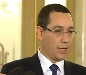 Ponta: Este mai bine decat ne asteptam. Romanii au mai multa incredere