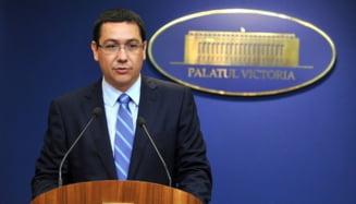 Ponta: FMI si Basescu sunt cei care doresc impozitarea drepturilor de autor si a PFA
