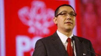 Ponta: Facem alegeri pentru presedintia CN al PSD cand va putea candida Nastase