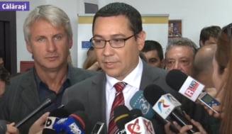 Ponta: Fondurile europene, un pariu ratat de membrii marcanti ai politicii