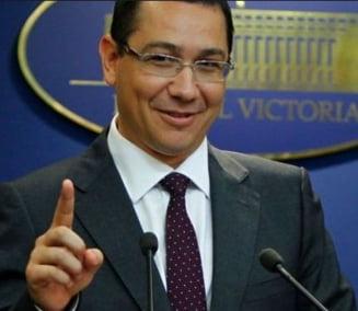 Ponta: Guvernul emite ordonante din cauza sistemului de sabotaj al PDL si al lui Basescu