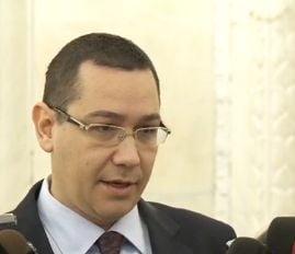 Ponta: Guvernul este 100% modul in care eu am gandit structura centrala