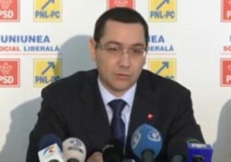 Ponta: Guvernul nu a discutat majorarea pensiilor si salariilor cu FMI