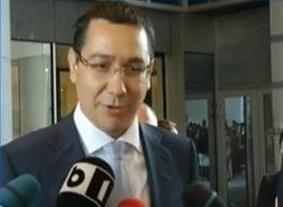 Ponta: Guvernul va respecta orice decizie a CCR dupa referendum (Video)