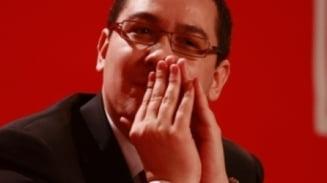 Ponta: Ii facem plangere penala lui Boc daca va plafona salariile profesorilor