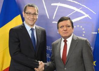 Ponta: Ii voi spune din nou lui Barroso ca in Romania nu a fost o lovitura de stat