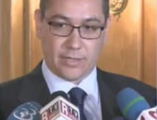 Ponta: Imi asum guvernarea intr-un minut, daca trece motiunea de cenzura