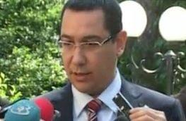 Ponta: Imi fac treaba de prim ministru, razboaiele nu ma intereseaza (Video)