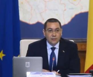 Ponta: In Romania orice fapta buna nu ramane nepedepsita - pentru ce i-a multumit lui Dragnea