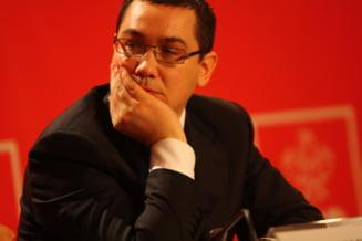 Ponta: In ministere au ramas oameni credinciosi vechii puteri, care baga strambe