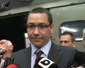 Ponta: Informatia ca Dan Diaconescu ar dispune de banii pentru Oltchim e falsa