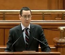 Ponta: Interesul Romaniei nu poate fi negociat nici supus unui compromis