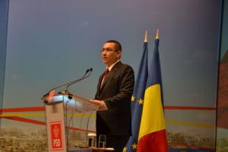 Ponta: Liviu stie ca are mandatul meu de premier pe masa, sunt convins ca il va folosi