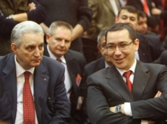 "Ponta: Ma bucur ca ""nenorocitul"" care nu vroia sa semneze pentru Niculae era Ilie Sarbu"