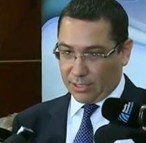 Ponta: Ma sfatuiesc cu trei fosti prim-ministri: Isarescu, Nastase si Tariceanu (Video)