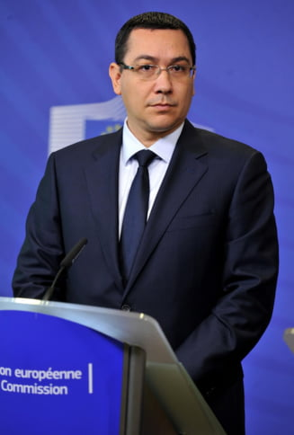 Ponta: Mi-as dori ministri de Finante cel putin la fel de buni ca Mihai Tanasescu