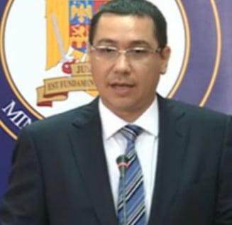 Ponta: Ministerul Justitiei are multe probleme, evident mostenite de ceva timp