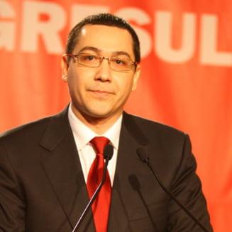 """Ponta: Ministrul Finantelor """"il trage de urechi"""" pe Basescu"""