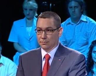 Ponta: Morar doreste un pic de reclama pentru anul viitor