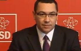 Ponta: Motiunea de cenzura a Opozitiei va fi depusa marti (Video)