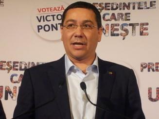 Ponta: Motiunea de cenzura ar putea fi un lucru folositor