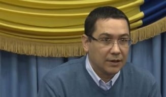 Ponta: Multumesc celor care stau in zapada! Cei vinovati vor fi schimbati din functie (Video)