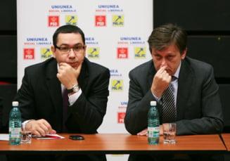 Ponta: N-am prieteni dictatori, ca altii prin Siria. Antonescu: Victor ma are pe mine... ca in afara nu