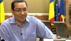 Ponta: N-am visat sa devin premier, ci un mare sportiv sau un mare artist