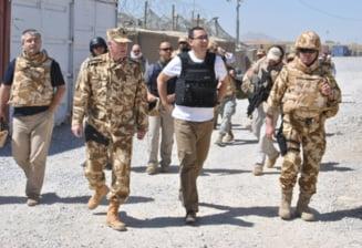 Ponta: Ne dorim sa nu avem nevoie de militari, dar asa cum arata lumea s-ar putea sa avem