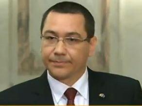 Ponta: Neinvitarea lui Basescu la aniversarea Senatului, o situatie anormala