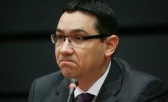Ponta: Nici vorba de demisie! Sunt represalii ale presedintelui (Video)