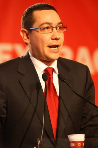 Ponta: Noi muncim si rezolvam problemele tarii, altii ne parasc la Bruxelles