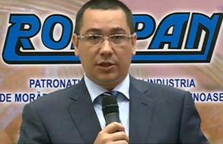 Ponta: Noi ne ocupam de paine, presedintele se ocupa de circ (Video)