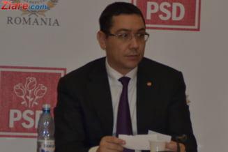 Ponta: Noul ministru de Interne va fi numit saptamana viitoare