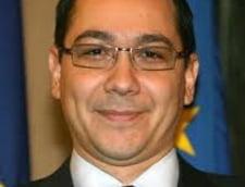 Ponta: Noul premier, desemnat miercuri, daca motiunea trece