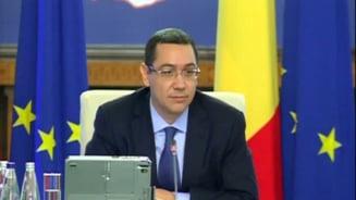Ponta: Nu am ce sa reprosez PNL, dar guvernarea e mai importanta. Marti mergem in Parlament pentru vot